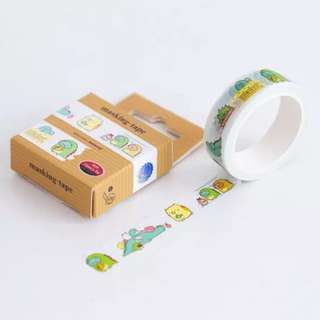 🚚 Sumikko Gurashi Brown Washi Tape #169