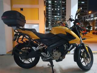Bajaj Pulsar NS200 Grounding kit