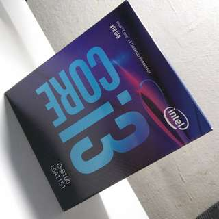 (NEW) Intel I3-8100 3.6Ghz