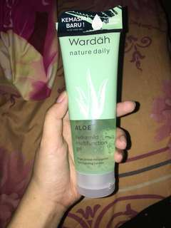 Wardah aloe vera gel nature daily hydramild multifunction gel