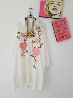 Dress Bunga(foto geser ➡)