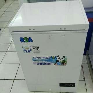 RSA chezt freezer bisa dicicil tanpa kartu kredit proses 3 menit