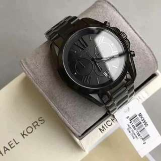 MK BLACK BRADSHAW AUTHENTIC WATCH