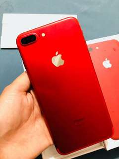 Iphone 7 plus 128gb Limited Red Factory Unlock