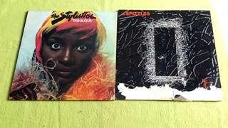 SPIZZLES . spikey dream flowers ● THE STYLISTICS . fabulous ( buy 1 get 1 free )   Vinyl record