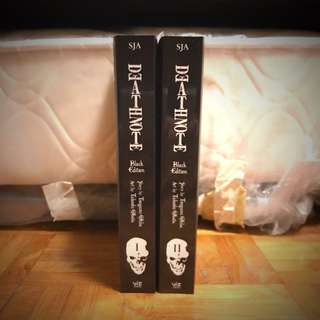 Death Note English Manga, Black Edition