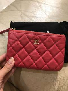 Chanel coins bag 荔枝皮 金扣