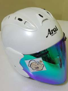 2806*** TSR Helmet CONVERT ARAI  Helmet For Sale 😁😁Thanks To All My Buyer Support 🐇🐇 Yamaha, Honda, Suzuki