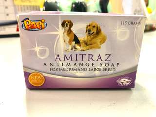 PAPI - AMITRAZ Antimage Soap for Medium and Large Breed DOGS