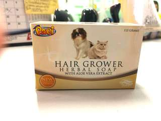 PAPI - Hair Grower Herbal Soap with aloe vera extract for DOGS and CATS