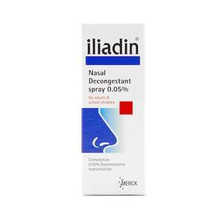 Sealed Iliadin Nasal Decongestant Solution 0.05%