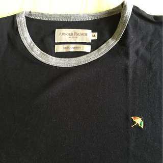 Arnold Palmer Tshirt in Black
