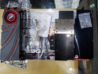 MSI R9 290X 4GB DDR5 + EK Fullcover Waterblock