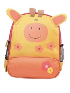 Giraffe School Backpack Bag