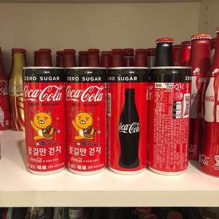 Coca Cola Korea Zero Kakao Friends