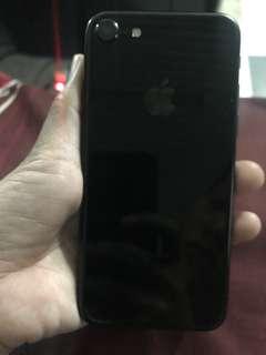 iphone7 jet black 256 gb