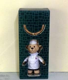 🚚 The Peninsula 半島酒店 限量版廚師熊 鑰匙圈+筆記本