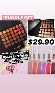 🚚 [*OFFER] MORPHE + KyLie bundle Set