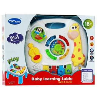 [New] Musical Learning Table