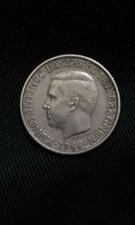 Greece 1 drachma 1966