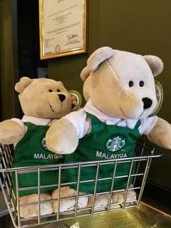 Malaysia Starbucks Apron Bearitas bear