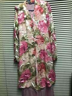 Pink Flora Kebaya