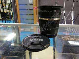 TAMRON SP 10-24MM F3.5-4.5 DI II WIDE LENS