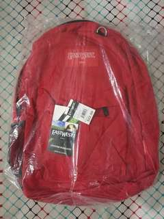IMPORTED EASTWEST BACKPACK RED