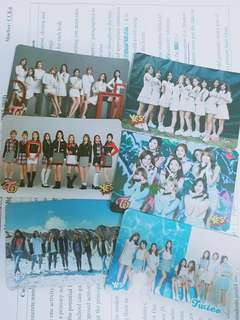 TWICE yescard 團卡系列