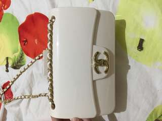 White minnie bag