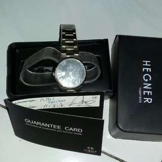turun harga hegner timepiece watch ori /jam tangan hegner