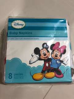 [Brand New] (76cmx76cm) Disney Baby Napkins
