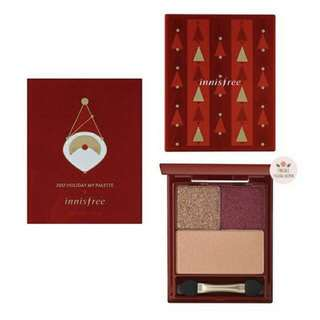 Innisfree 2017 Holiday My Palette 1 (Red)