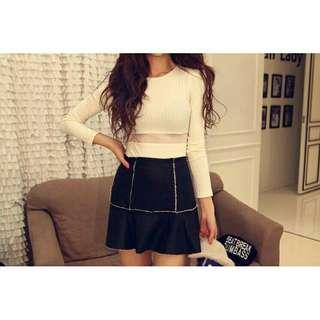 White import blouse