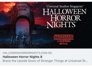 Halloween Horror Nights 8 UNIVERSAL STUDIOS SINGAPORE