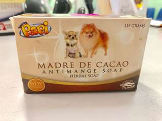 PAPI - Madre De Cacao Antimage Soap Herbal Soap for Cats and Dogs