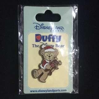 迪士尼徽章 Disney Pin 法國聖誕Duffy