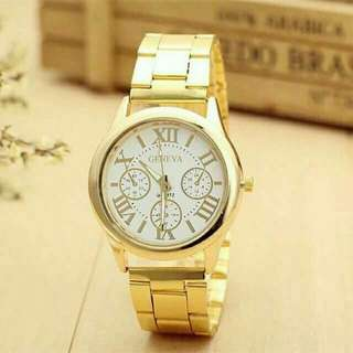 UNISEX WATCH (GOLD)