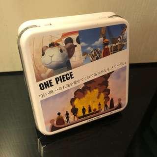 🐱全新Sanrio正版 One Piece海賊王糖果收藏空罐盒
