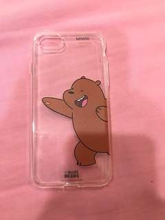 Miniso We Bare Bears case for iPhone 7