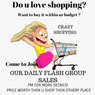 DAILY FLASH GROUP SALES 😈😈😈