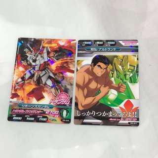 Gundam TRYAGE 港版 PR-017 + PR-019 (一set2張)