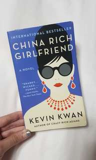 🚚 China Rich Girlfriend Kevin Kwan Book
