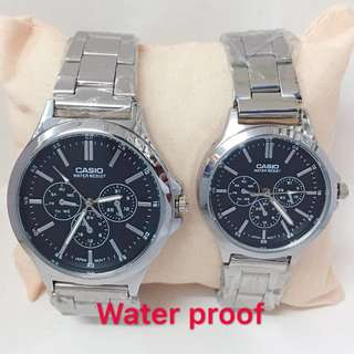 Casio Couple Watch Waterproof