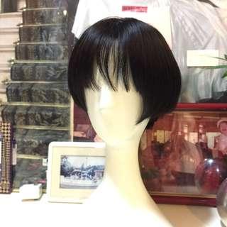 🚚 高仿真短髮假髮 輕鬆打造新造型