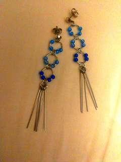 🚚 Handmade Seed beads Dangling Earrings