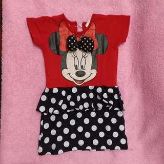 Baju Minnie Mouse