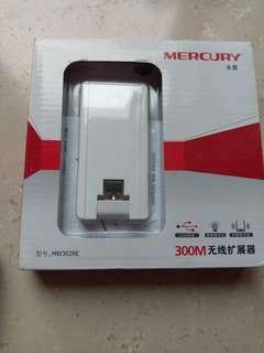 MERCURY 水星 300M 無線擴展器