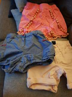 Girls shorts - Bulk Lot - Size 5