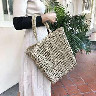 🚚 [IN-STOCK] Martha Summer Straw Tote Bag